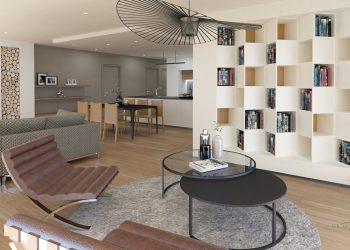 Architecte d'intérieur Haute-Savoie Salon