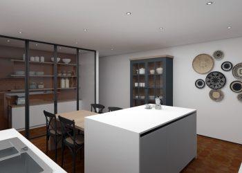 Architecture d'interieur - renovation Grange